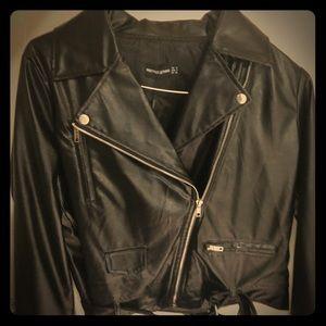 Black Biker/Leather Jacket